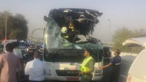 مصرع 17 شخصاً بينهم عمانيون في حادث سير مروع بدبي