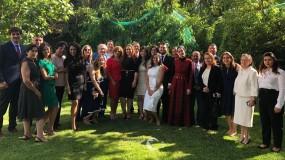 سفارتنا بإسبانيا تكرم الخريجين الفلسطينيين من المعهد الدبلوماسي الإسباني .