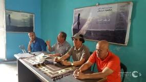 الفنانيين فى غزه يشكون من التهميش