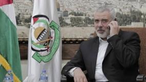 هنية قضية الأسرى أولوية لدى حماس