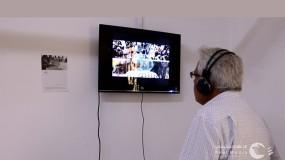 """""""مواجهة"""" أول معرض فردي فلسطيني بتقنية """"الفيديو آرت"""" برؤية بصرية معاصرة للتشكيلية رفُيدة سحويل"""