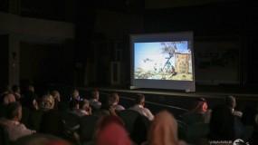 """عرض افتتاحي لفيلم """" كان في الخان """" خرج بالطلاب من البيئة التقليدية للمدارس وسلط الضوء على القضايا المجتمعية"""