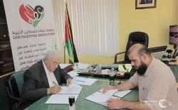 بدعم من الحكومة الصينية عطاء فلسطين الخيرية وبلدية النصر يوقعان اتفاقية مشروع تحلية المياه