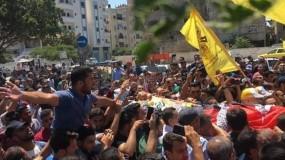 في جنازة مهيبة.. غزة تودع تامر السلطان