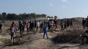 """شهيد وإصابات برصاص قوات الاحتلال في جمعة """"المصالحة خيار شعبنا"""""""