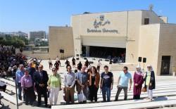 زيارة وفد من الجامعات الالمانية لجامعة بيت لحم