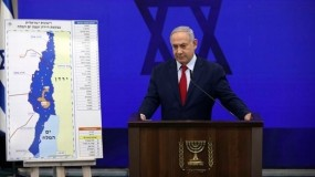 نتانياهو يحذر غانتس من خطر حكومة تضم الأحزاب العربية