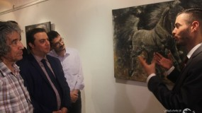 """سفارة فلسطين تفتتح معرض """"لكل وجه قضية """""""