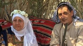 عقد قران لأكبر زوجين بفلسطين.. العروس تكبر العريس ب(15 عام)