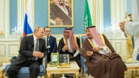 خلال زيارة تاريخية لبوتين..ميثاق للتعاون و20 اتفاقية ومذكرة تفاهم بين روسيا والسعودية