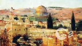 معرض القدس بعيون الماضي ..لوحات توثق كل العصور التي شهدتها المدينة