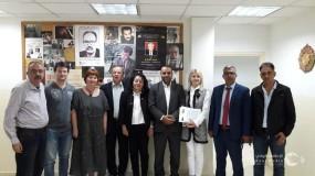 تفعيل اتفاقية التعاون بين اتحاد كتاب روسيا والاتحاد العام للكتاب والأدباء الفلسطينيين