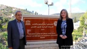 معايعة: إدراج مواقع فلسطينية على قائمة التراث العالمي يُساهم بحمايتها من الاحتلال