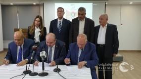 توقيع اتفاقية للنقل البرى للمعتمرين الفلسطينيين