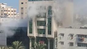 9 شهداء وإصابات في قصف اسرائيلي مستمر على قطاع غزة ودمشق
