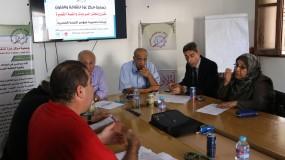 إجتماع اللجنة الاستشارية العليا للمؤتمرالأول للقصة القصيرة في فلسطين
