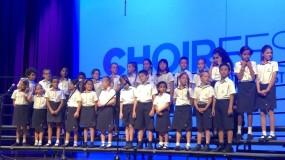 تلاميذ دبي هيتس أكاديمي يقدمون حفل غنائي مبهر احتفالاً بنهاية العام