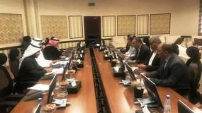 أبو الرب يبحث آلية استقبال حجاج فلسطين بالمدينة المنورة مع رئيس المؤسسة الأهلية للأدلاء