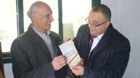 وزير الثقافة الدكتور عاطف أبو سيف يزور الاتحاد العام للكتّاب والأدباء في غزة
