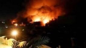قصف صاروخي على المنطقة الخضراء بالعراق والسفارة الأمريكية تطلق صافرات الإنذار