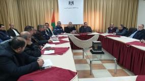الإجتماع التحضيري لموظفي الإدارة العامة للشؤون الإدارية بوزارة الأوقاف