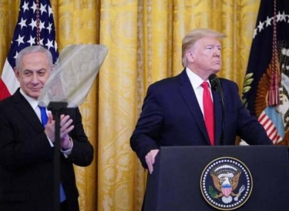 ترامب يُعلن صفقة القرن...دولة فلسطينية بحكم ذاتي والقدس عاصمة موحدة لإسرائيل