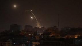 وسائل إعلام الاحتلال: صاروخ أُطلق من شمال قطاع غزة وسقط بمنطقة مفتوحة