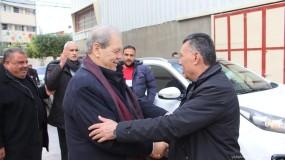 وصول روحي وفتوح وزياد أبو عمرو إلى قطاع غزة