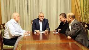 حماس تدعو إلى عقد لقاء قيادي فلسطيني مقرر لرسم إستراتيجية وطنية لمواجهة المخطط الاحتلالي