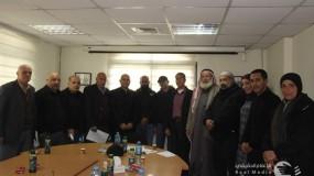 شؤون اللاجئين بالمنظمة تشكل خلايا ازمة من اللجان الشعبية في مخيمات وسط الضفة الغربية لمواجهة فيروس كورونا