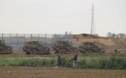 أليات عسكرية اسرائيلية تتوغل شرق بيت حانون