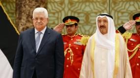 الرئيس عباس يعلن الحداد وتنكيس الأعلام على روح الأمير الصباح