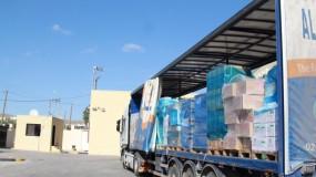 """""""الصحة"""": ست شاحنات تشمل مستلزمات لعلاج وفحص فيروس (كورونا) ستصل القطاع"""