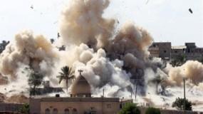 الجيش المصري يواصل القصف المدفعي والجوي على سيناء و اشتباكات ولاية سيناء في رفح