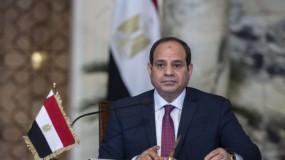 السيسي: مصر تدعم تسوية القضية الفلسطينية وفقا لقرارات الشرعية الدولية