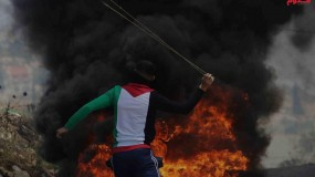 إصابات واعتقالات خلال مواجهات مع قوات الاحتلال في الضفة