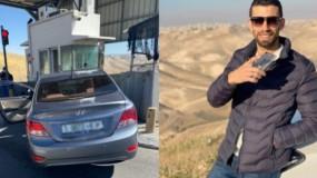 """قوات الاحتلال تعدم الشاب أحمد عريقات قرب حاجز """"الكونتينر"""" شمال بيت لحم"""