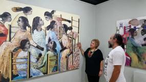 الفنان كمال أبو حلاوة تجربة حياة غنية بالفن والعمل الانساني