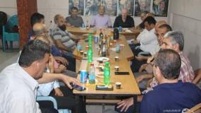 المكاتب الحركية في اقليم غرب غزة تؤكد على التفافها حول قيادتها الشرعية ضد معركة الضم