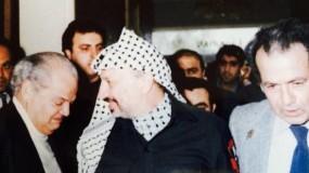 """وفاة الشاعر و المؤرخ الفلسطيني هارون هاشم رشيد الملقب بـ """"شيخ الشعراء"""""""
