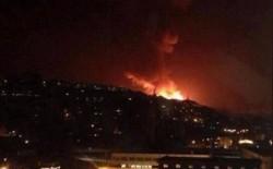قصف إسرائيلي لأهداف سورية في القنيطرة بالجولان