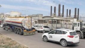 ملادينوف: طلبنا من إسرائيل إعادة ضخ الوقود لمحطة كهرباء غزة