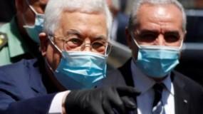الرئيس عباس يُقرر تشديد الإجراءات الوقائية وإرسال وفد وزاري للقطاع