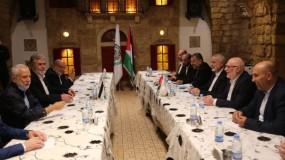 اجتماع قيادي بين حركتي حماس والجهاد الإسلامي في بيروت