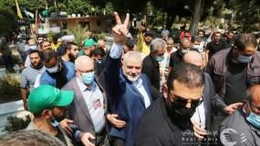 هنية: حماس ستقدم مبلغ مليون دولار لتنفيذ مشاريع في مخيمات لبنان