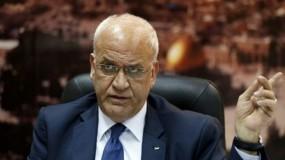 عريقات لأبو الغيط: المواقف مع جامعة الدول العربية ليست شخصية