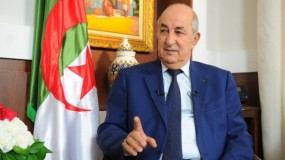 الرئيس الجزائري: إقامة الدولة الفلسطينية المستقلة أساس الاستقرار في الشرق الأوسط