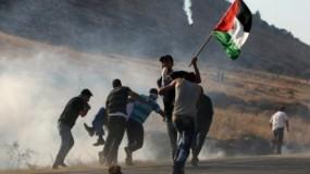 إصابات لعدد من المواطنين بالاختناق خلال مواجهات مع الاحتلال