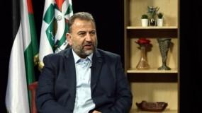 العاروري: حماس مستعدة لحوارات القاهرة وذاهبة إليها بقلوب مفتوحة