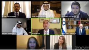 غانتس يجتمع بصحفيين من الخليج ويشيد بأمراء السعودية وأبوظبي